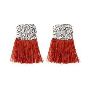 Orange earrings paparazzi